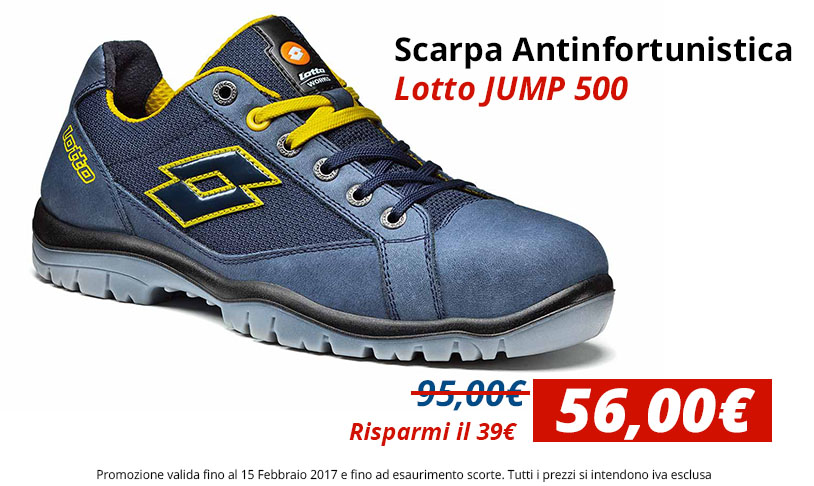 Scarpa antinfortunistica Lotto JUMP 500 S1P-SRC