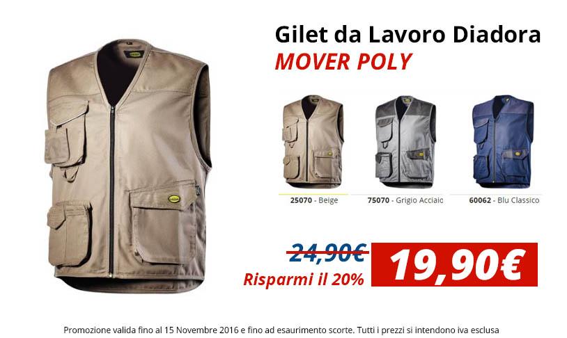 Gilet da Lavoro Diadora MOVER POLY