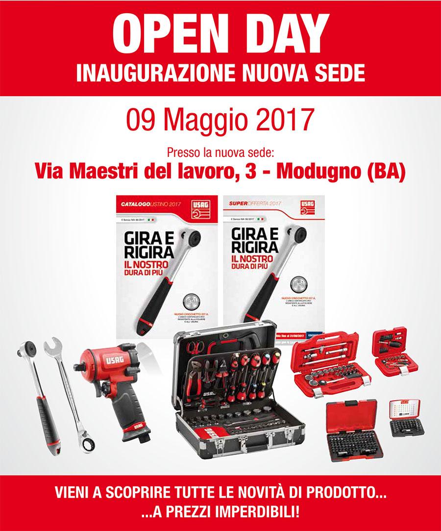 OPEN DAY USAG Bari + Inaugurazione nuova sede